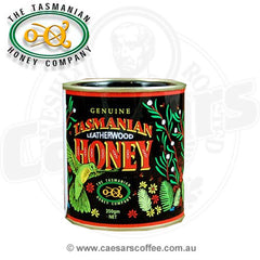 Genuine Tasmanian Leatherwood Honey 350g tin