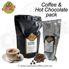 Coffee & Hot Chocolate Combo Pack