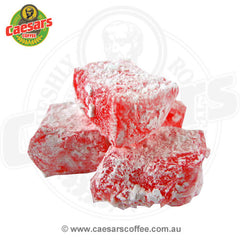 Caesars Coffee Rose Flavoured Turkish Delight 300g