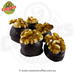 Caesars Coffee Dark Chocolate Walnut Creams 150g