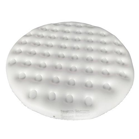 Inflatable Round Insulator Top for 4-Person Inflatable Hot Tub - White - SaunaTown.com