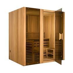 Hemlock Indoor Wet Dry Steam Room Sauna - 6 kW ETL Certified Heater - 6 Person - SaunaTown.com