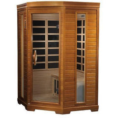 Golden Designs Dynamic Heming Low EMF Far 2-Person Infrared Sauna DYN-6225-02