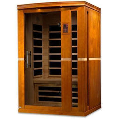 Golden Designs Dynamic Vittoria Low EMF Far 2-Person Infrared Sauna DYN-6220-01