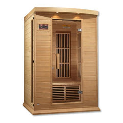 Golden Designs Maxxus Low EMF FAR 2-Person Infrared Sauna MX-K206-01