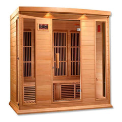 Golden Designs Maxxus Low EMF FAR 4-Person Infrared Sauna MX-K406-01