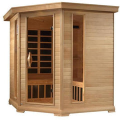 Golden Designs Monte Carlo Near Zero EMF Far 4-5-person Infrared Sauna GDI-6445-01