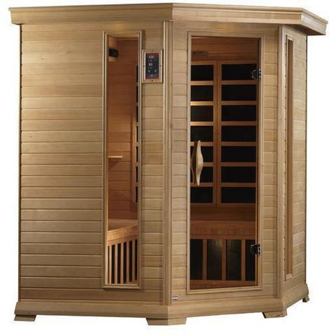 Golden Designs Monte Carlo Near Zero EMF Far 4-5-person Infrared Sauna GDI-6445-01 - SaunaTown.com
