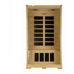 Golden Designs Studio Series Low EMF Far 1-2-person Infrared Sauna GDI-6109-01