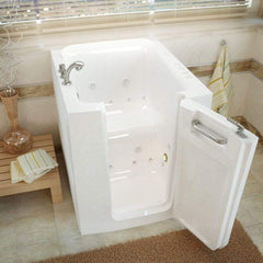 Meditub Walk-In Right Door Whirlpool & Air Jetted Bathtub 3238RWD - SaunaTown.com