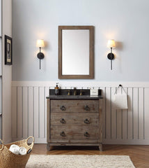 "Legion Furniture 36"" Wood Sink Vanity Match With Marble Wh 5136"" Top -No Faucet Bathroom Vanities WH8836 - SaunaTown.com"