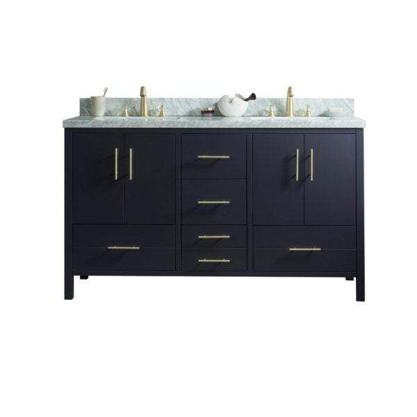 "Legion Furniture 60"" Solid Wood Sink Vanity With Without Faucet Bathroom Vanities WS3260-G - SaunaTown.com"
