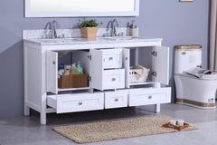Legion Furniture Sink Vanity with Mirror, Without Faucet Bathroom Vanities WT7360-W