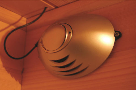 SunRay Barrett 1 Person Infrared Sauna HL100C - SaunaTown.com