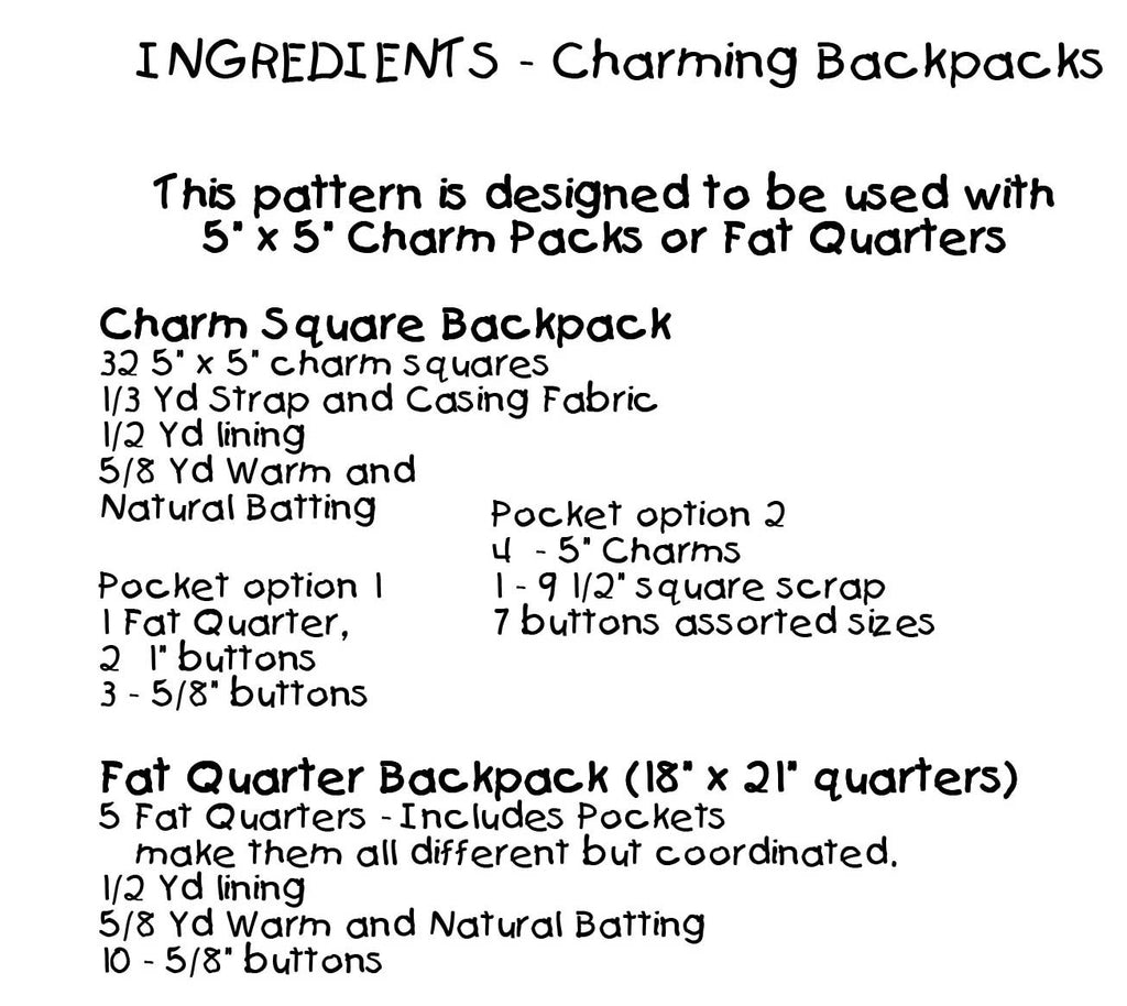 Charming Backpacks