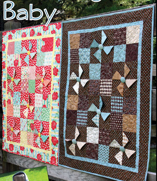 Charming Baby Quilt and Tote