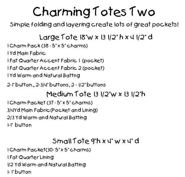 Charming Totes Two