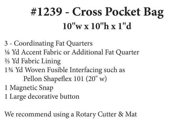 Cross Pocket Bag