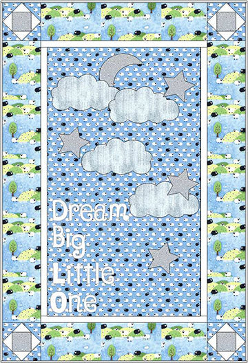 Dream Big Crib Quilt