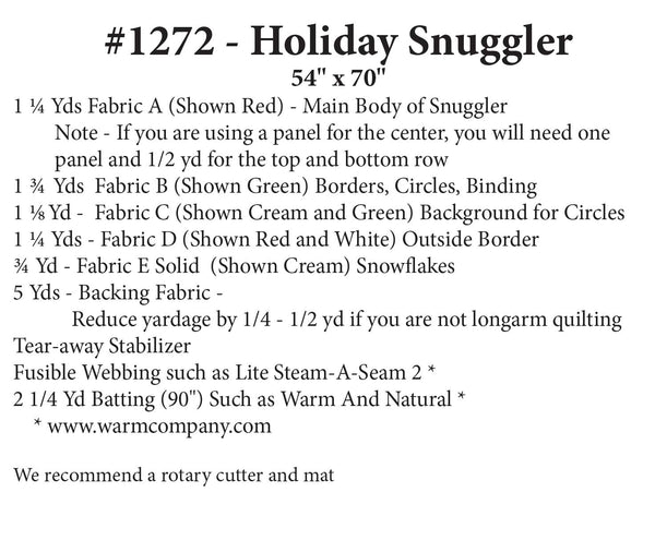 Holiday Snuggler
