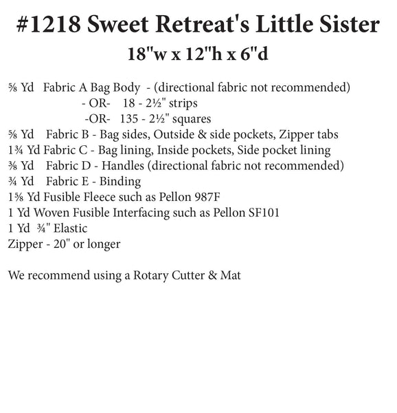 Sweet Retreat's Little Sister