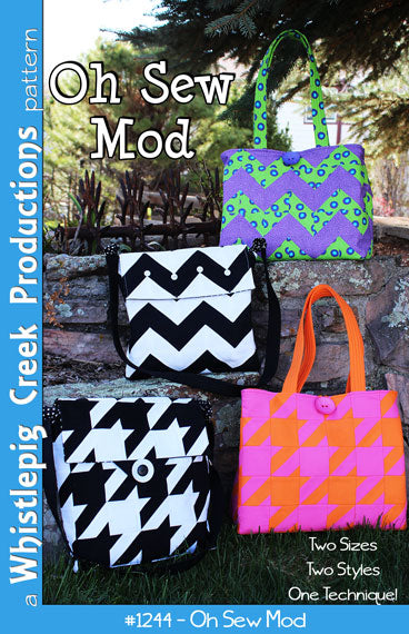 Oh Sew Mod Totes