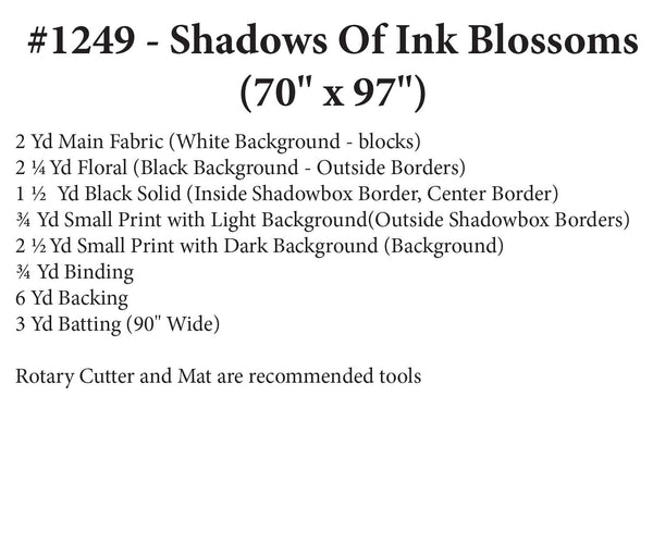 Shadows of Ink Blossoms