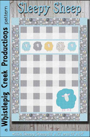 Sleepy Sheep Baby Quilt