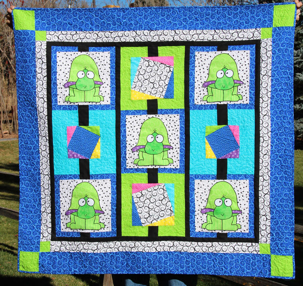 Ted Turtle Crib Quilt
