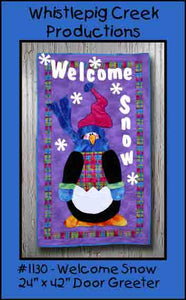 Welcome Snow Door Greeter