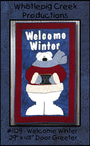 Welcome Winter Door Greeter