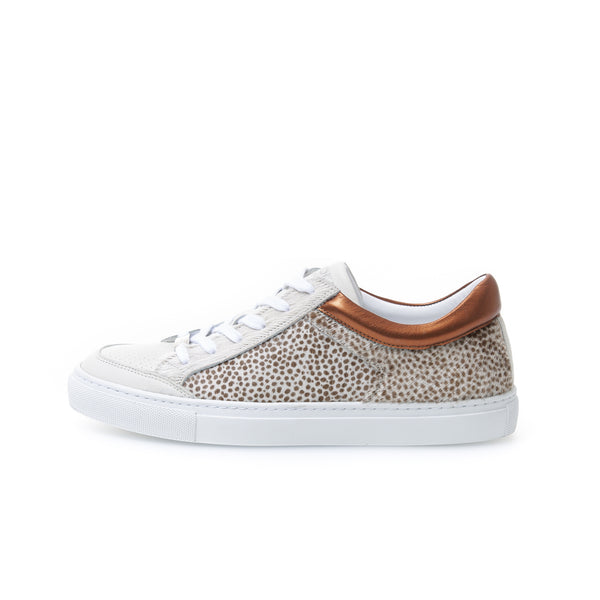 Kunoka Gabrielle - cheetah white Sneaker brown