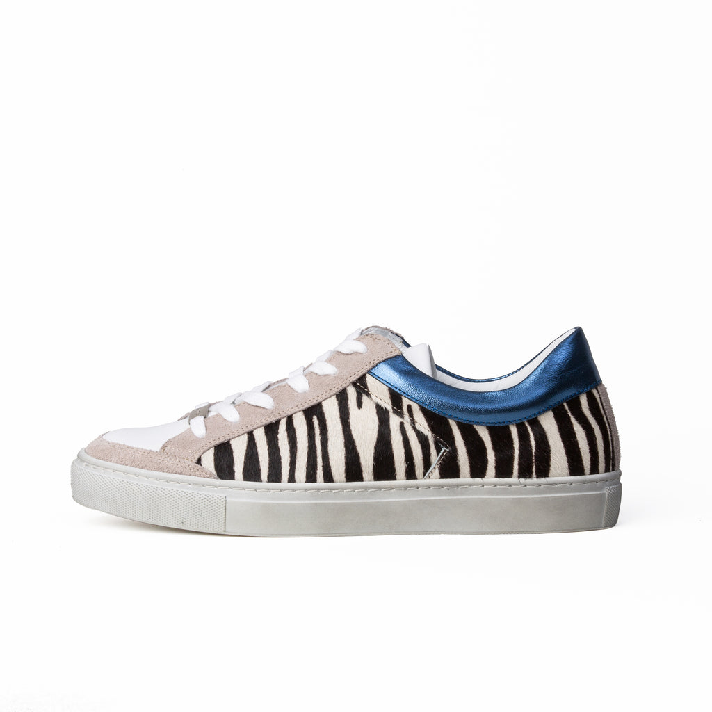 Kunoka Gabrielle - zebra blue Low Sneaker multicolor
