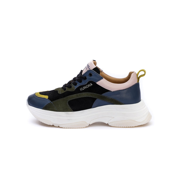 Kunoka Ugly - galaxy khaki Sneaker multicolor