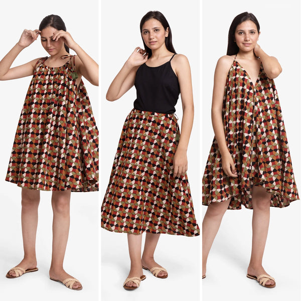3-Way Circular Convertible Skirt Dress