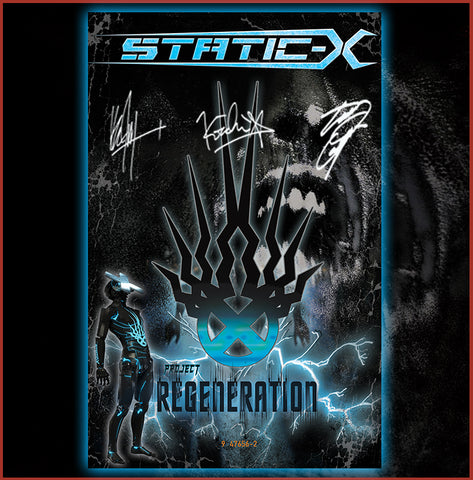 "11x17"" Limited Edition ""Project Regeneration"" Autographed Poster - Poster is hand signed by Tony Campos, Koichi Fokudu, ken Jay, and Special Guest"