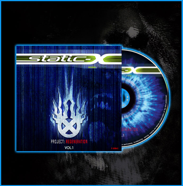 "Static-X ""Project Regeneration Volume 1"" CD"
