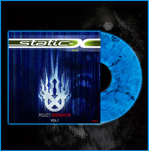 Limited Edition Project Regeneration Volume 1 Blue Vinyl