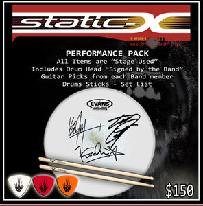 "Static-X Wisconsin Death Trip 20th Anniversary Tour ""Performance Pack"""
