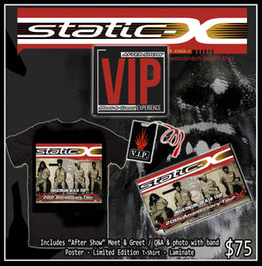 Static-X VIP After Show Meet & Greet with band