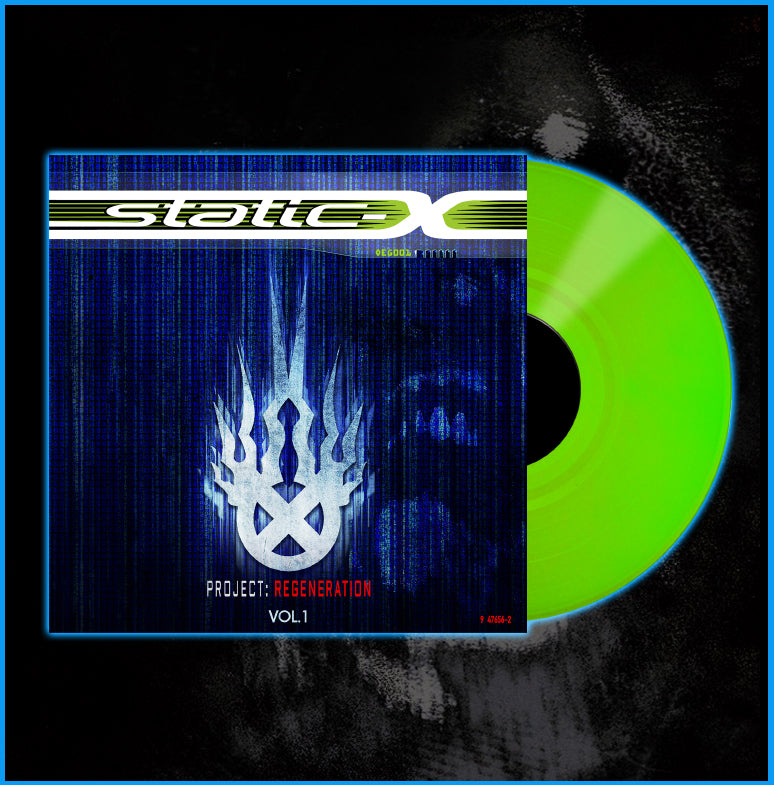 Limited Edition Project Regeneration Volume 1 Green Vinyl