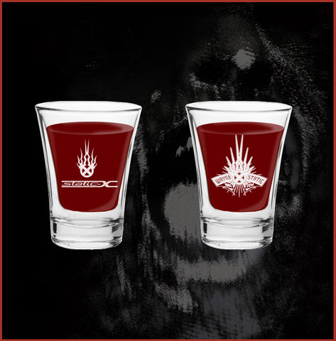 Wayne Static Shot Glass
