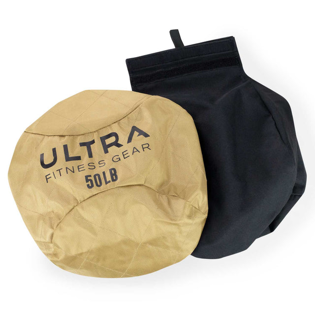 Ultra Fitness Gear Soft Atlas Stone Sandbag, Includes Ultra Durable Soft  Outer Shell and Filler Bag