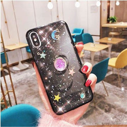 Colorful Universe Case - Black / iPhone 6/6S