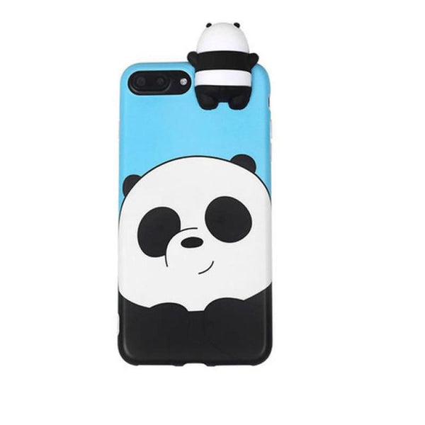 Cute Animal Case - Panda / iPhone 6/6S
