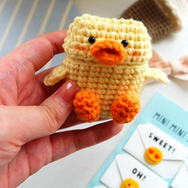 Duckling Knitted Airpod Case
