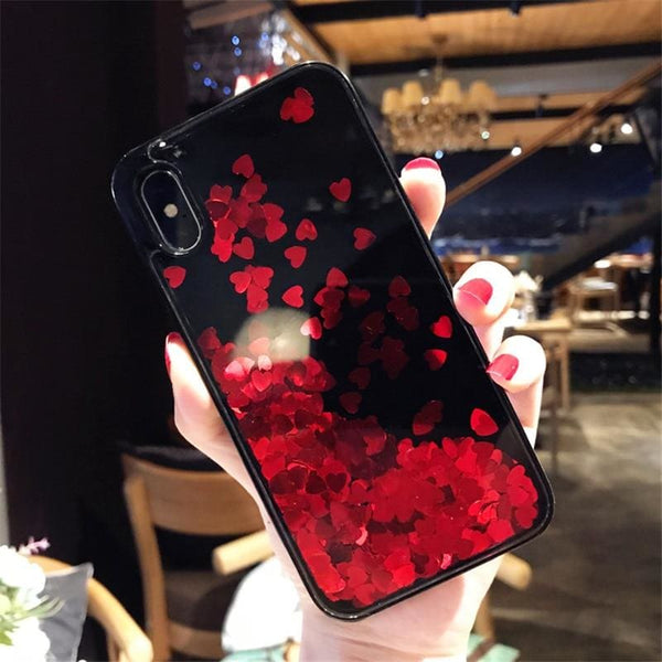 Floating Hearts Case