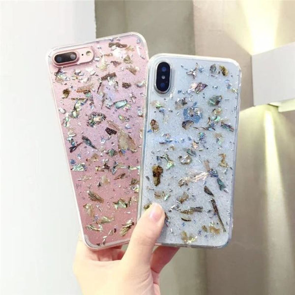 Glitter Flakes Case - Small Flakes / iPhone 6/6s