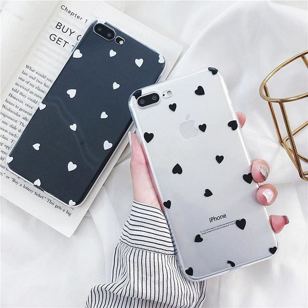 Heart Polka Dot Case