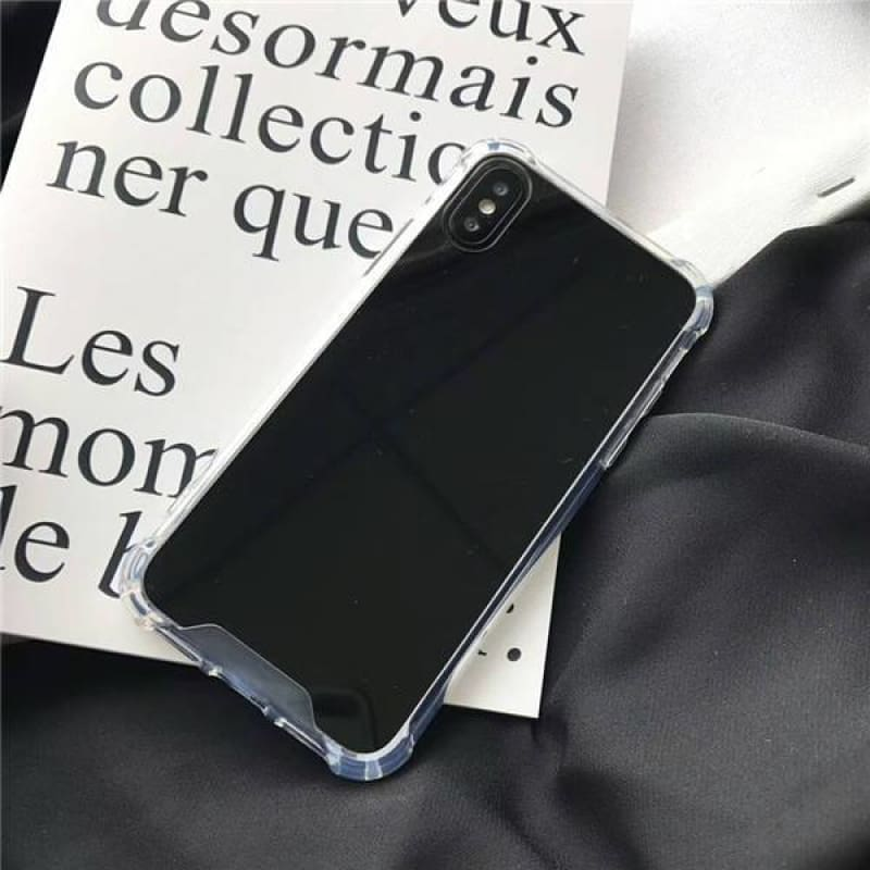Mirror Case - Black / iPhone X